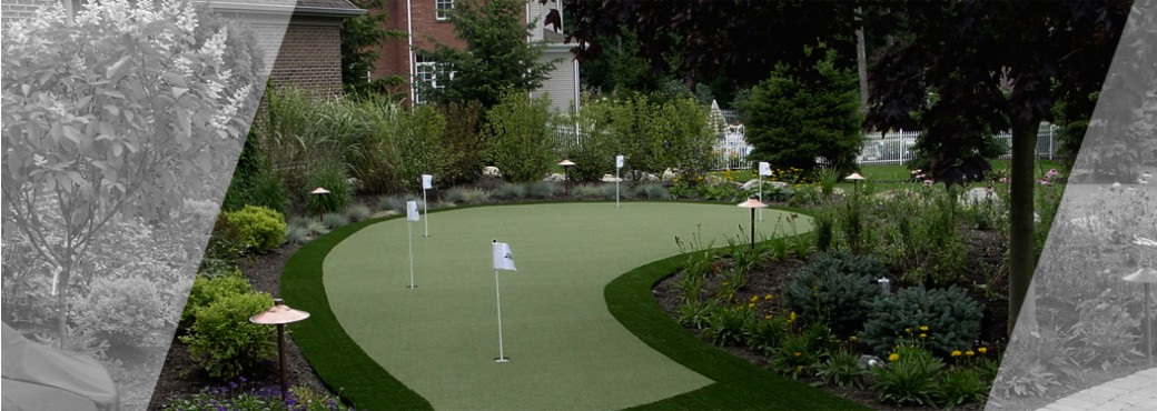Backyard Golf, putting green