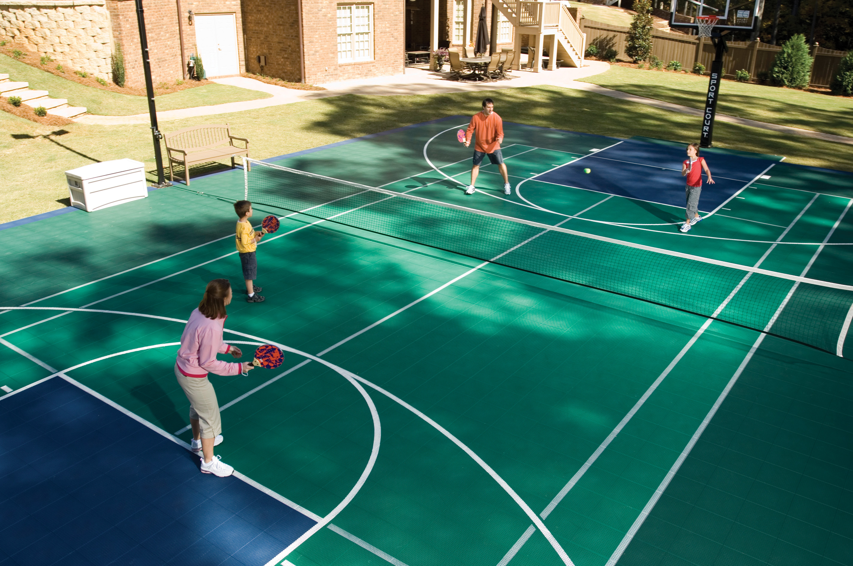 Tennis Courts Lake Shore Sport Court