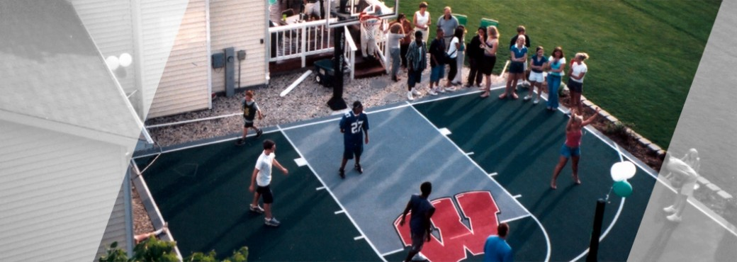 Backyard Basketball sport court